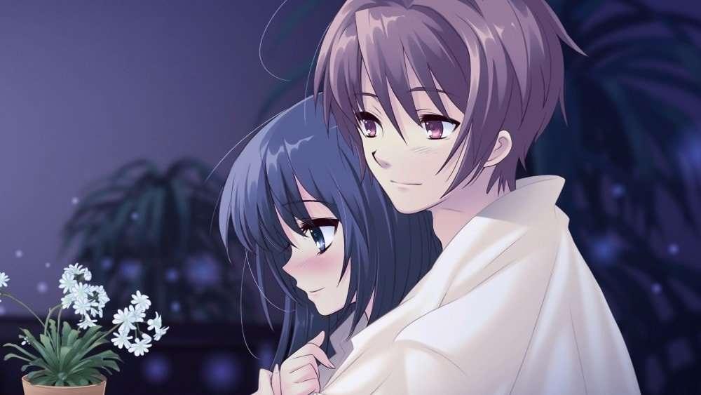 Ảnh Anime lãng mạn dễ thương