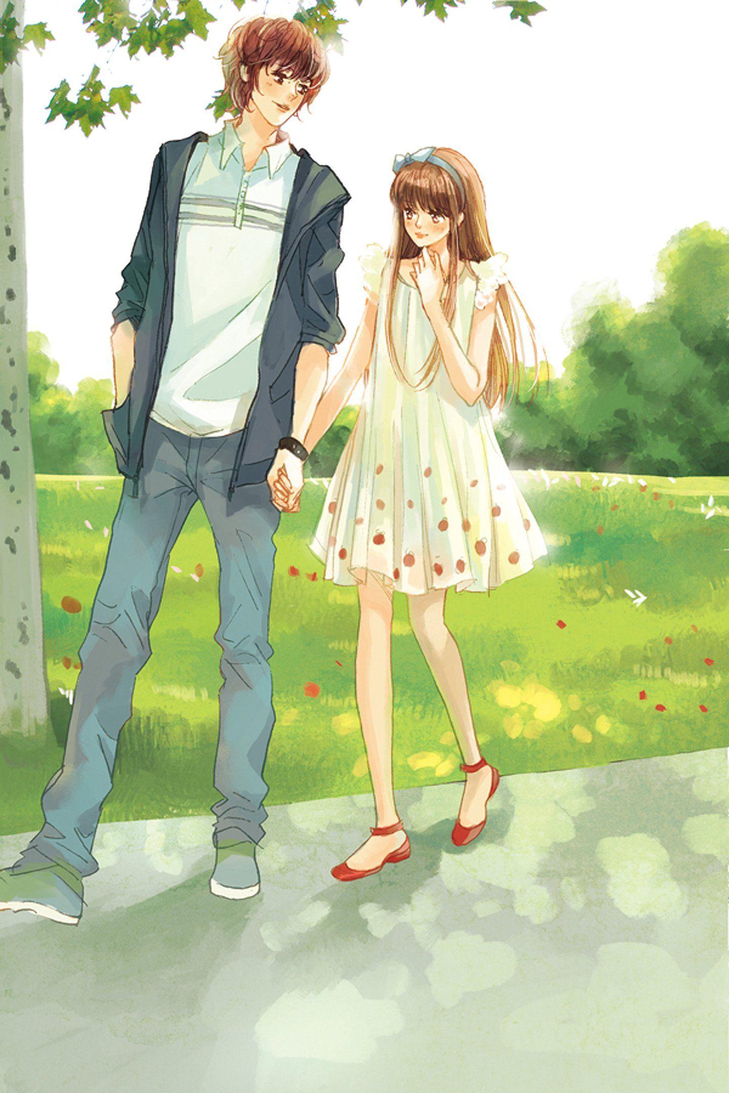 Ảnh cặp đôi Anime