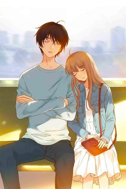 Ảnh couple Anime ngọt ngào