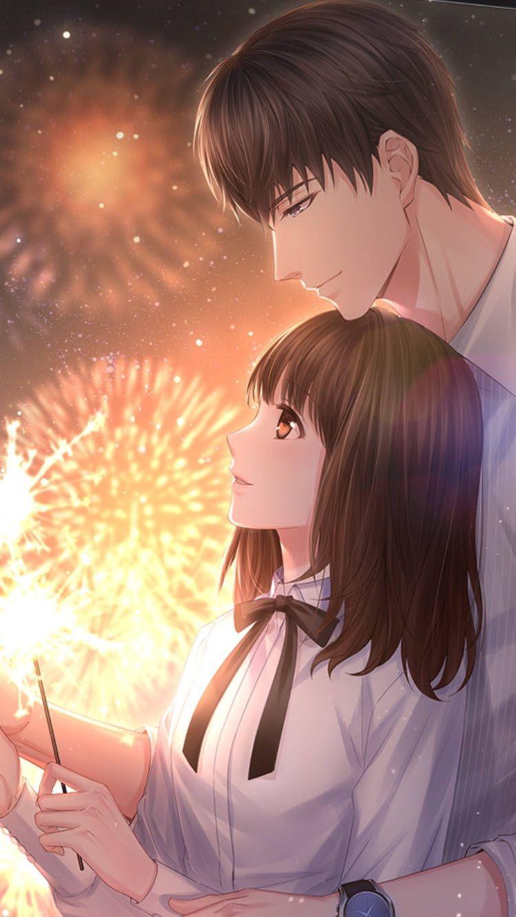 Ảnh Couple Anime tình cảm