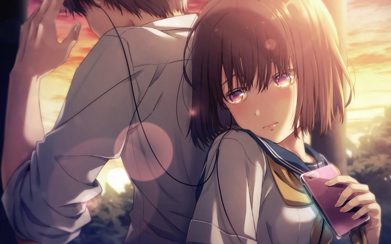 Ảnh đôi Anime ấm áp, nồng làn