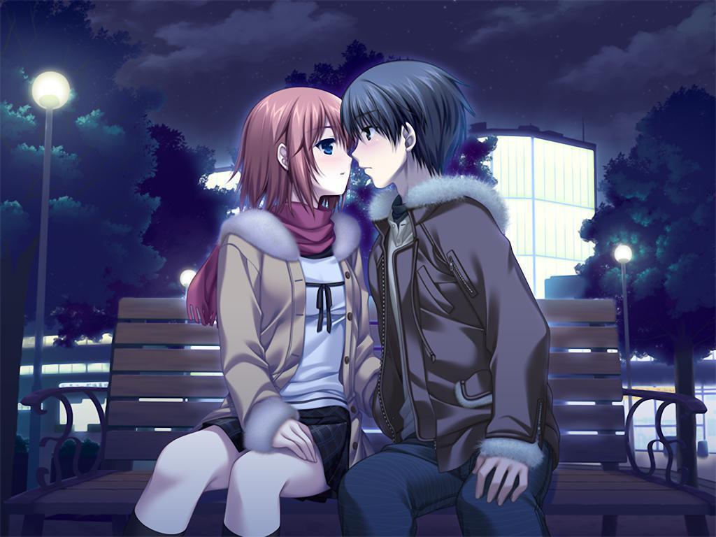 Ảnh đôi Anime lãng  mạn