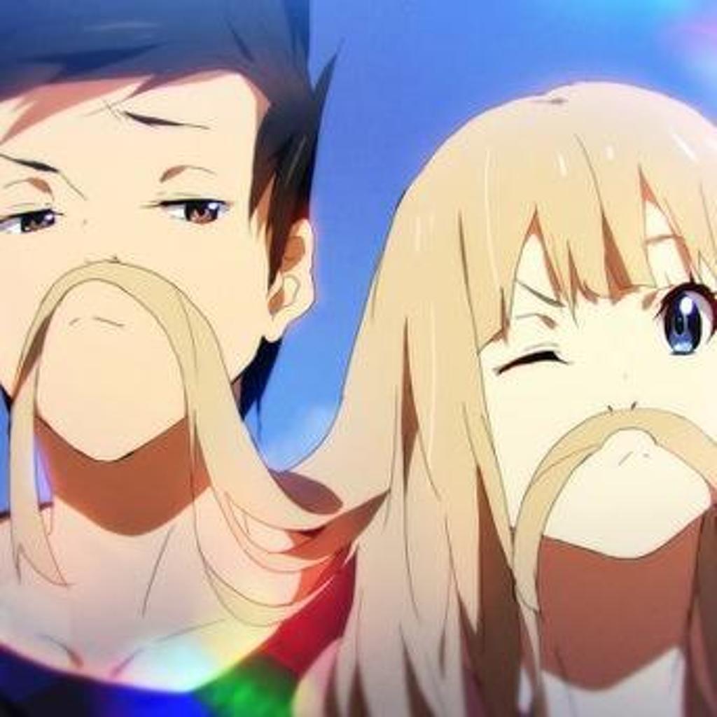 Ảnh đôi Anime siêu đáng yêu