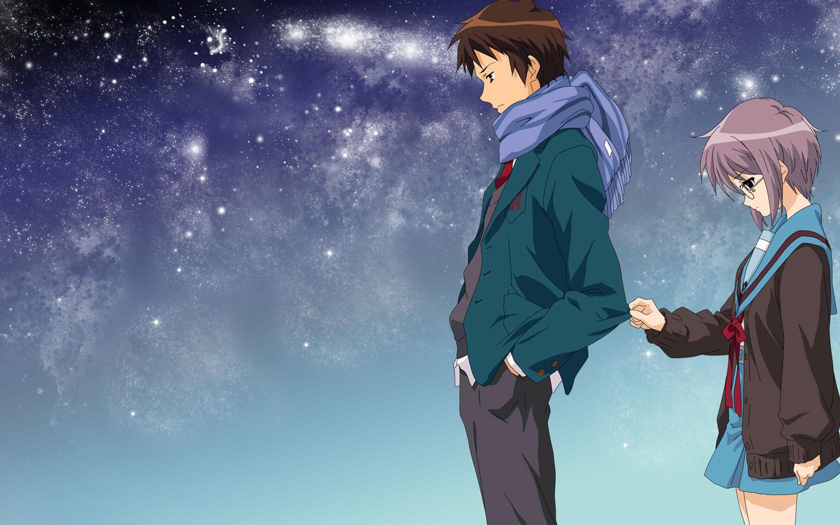 Ảnh đôi Anime siêu dễ thương