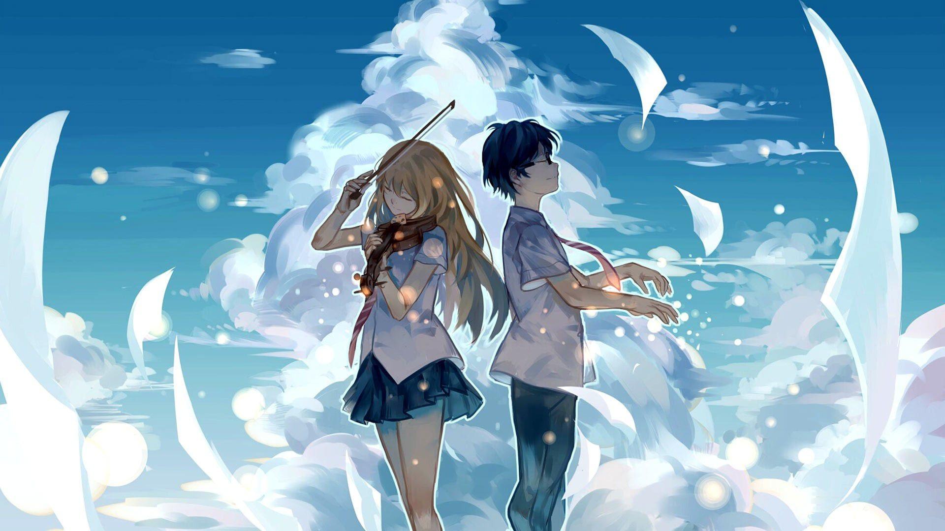 Ảnh đôi Anime siêu đẹp