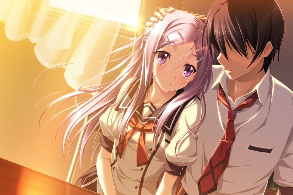 Ảnh đôi Anime tình cảm đẹp