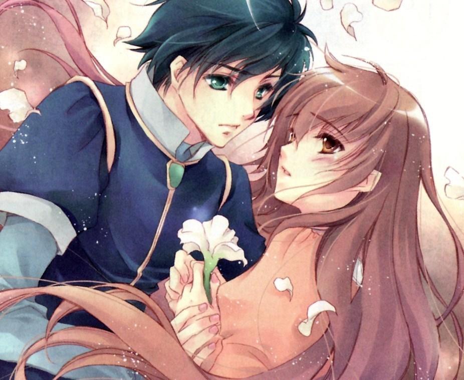 Hình đôi Anime tình cảm