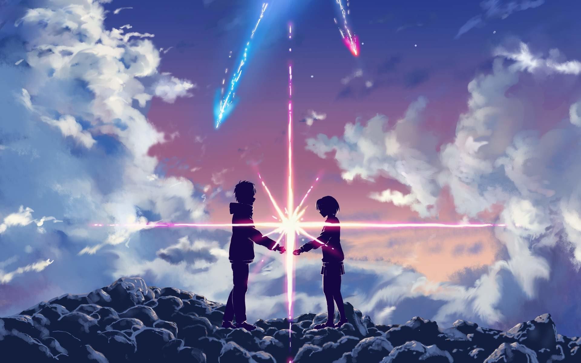 Hình nền đôi Anime đẹp