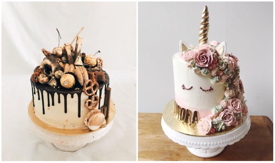 Bánh sinh nhật chú ngựa cầu vồng