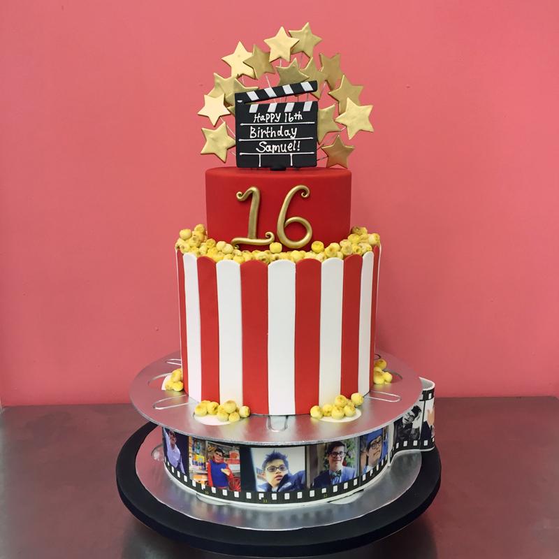 Bánh sinh nhật cuộn phim