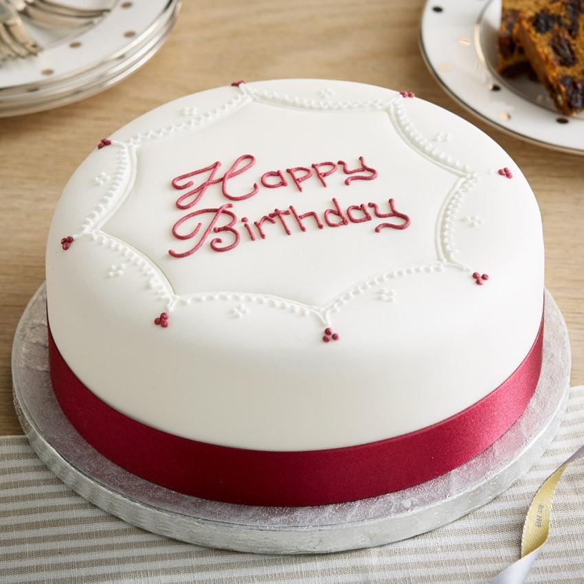 Bánh sinh nhật đơn giản hiện đại