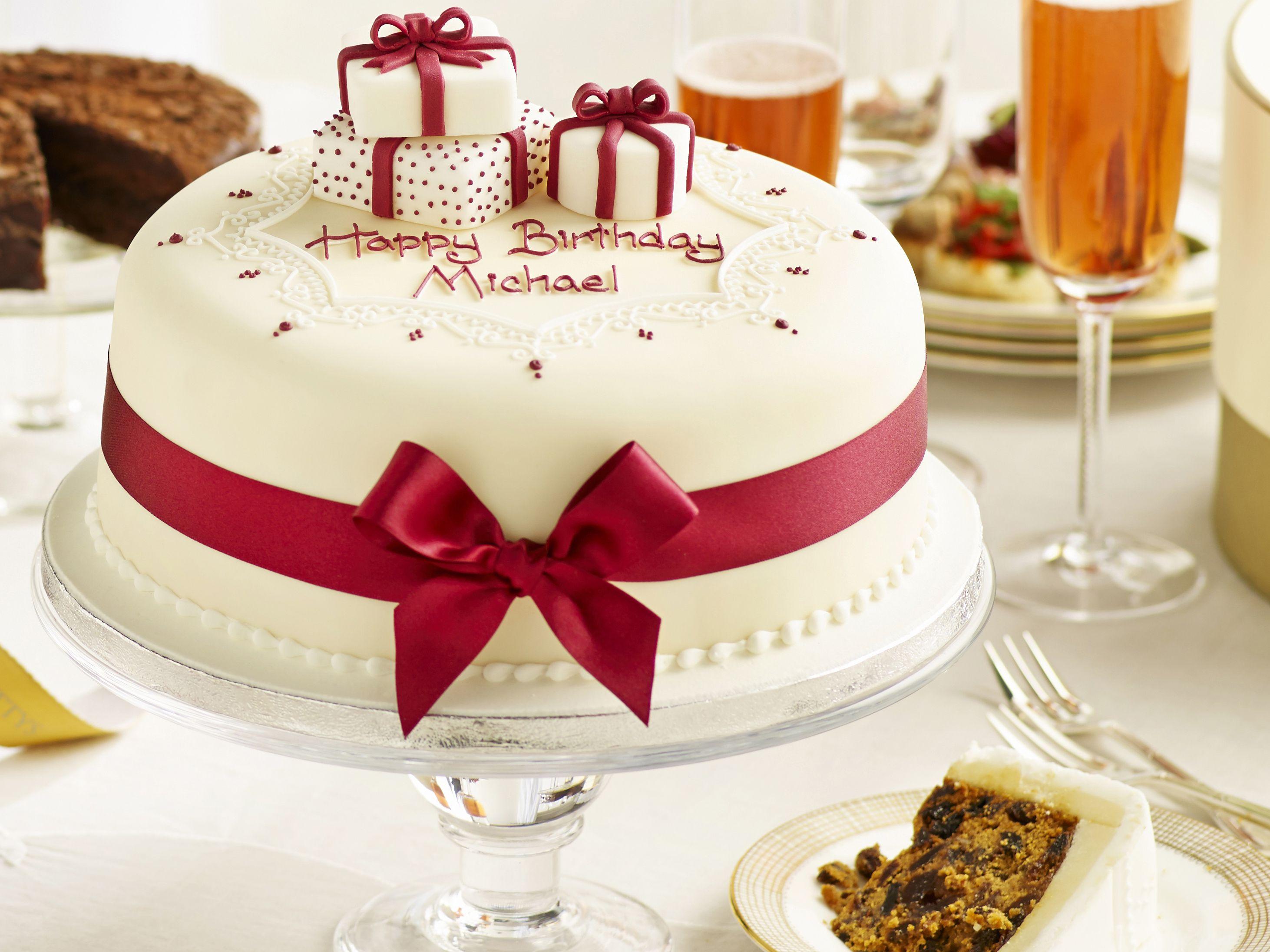 Bánh sinh nhật hiện đại