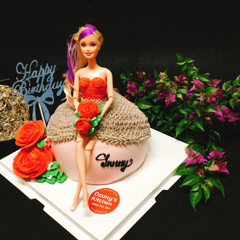 Bánh sinh nhật hình búp bê