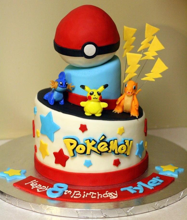 Bánh sinh nhật hình Pokemon