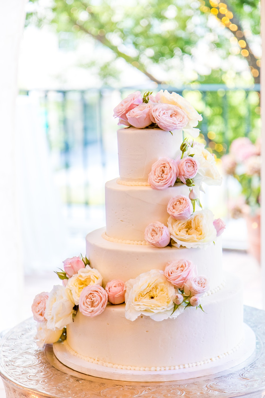 Bánh sinh nhật hoa hồng