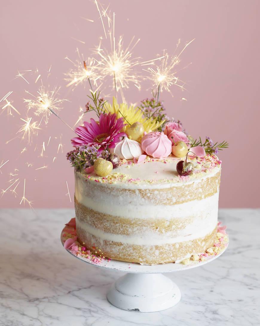 Bánh sinh nhật hoa