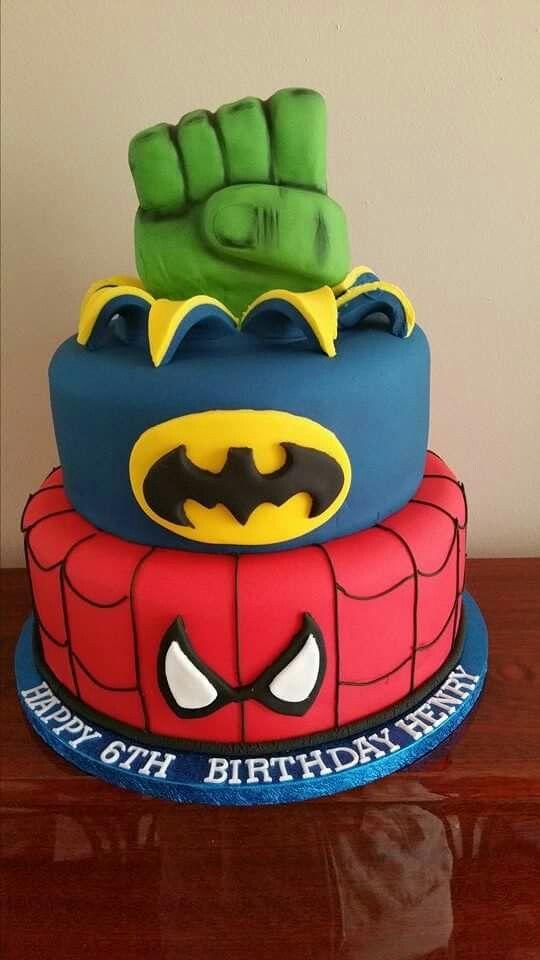Bánh sinh nhật Hulk