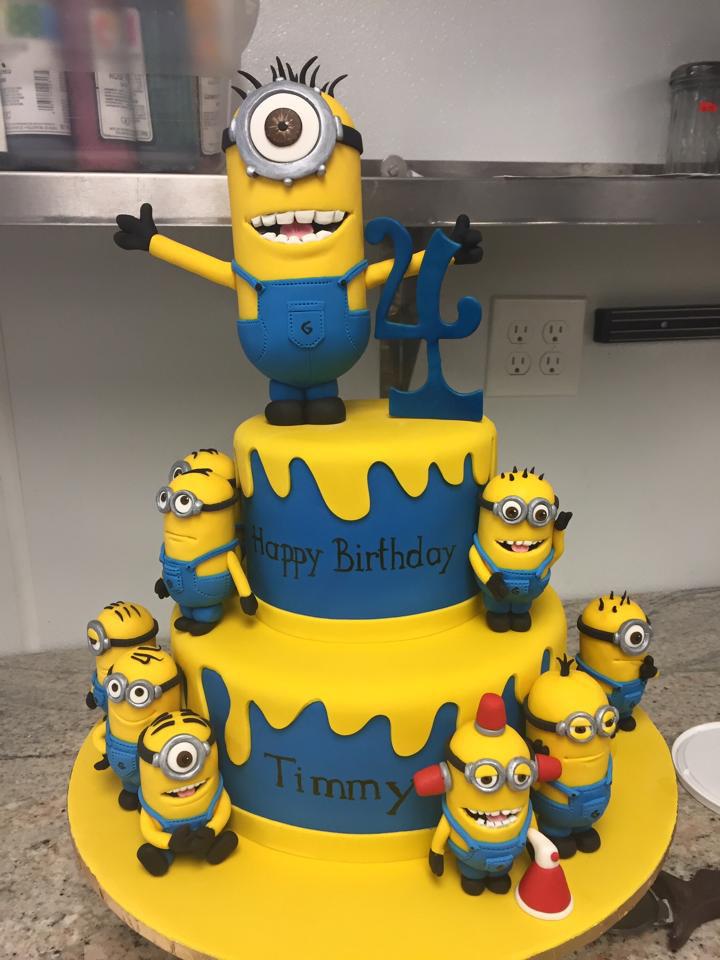 Bánh sinh nhật Minions đáng yêu