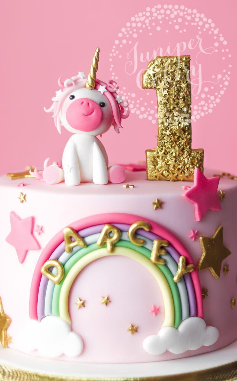 Bánh sinh nhật ngựa hồng