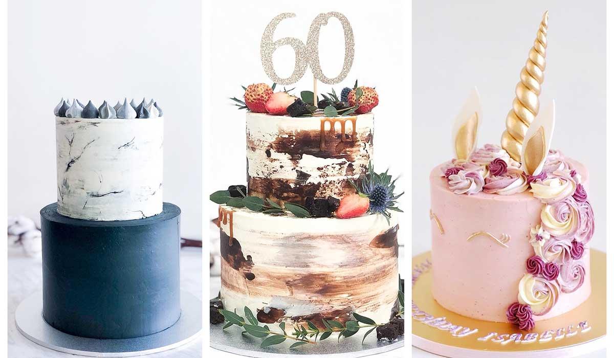 Những mẫu bánh sinh nhật đẹp cho bé