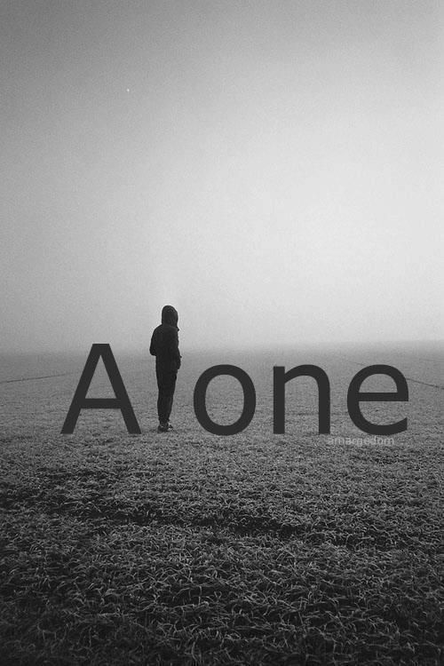 Ảnh buồn cô đơn
