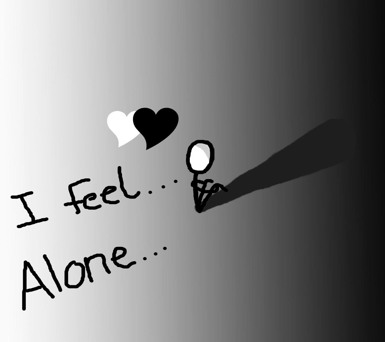 Ảnh cô đơn một mình