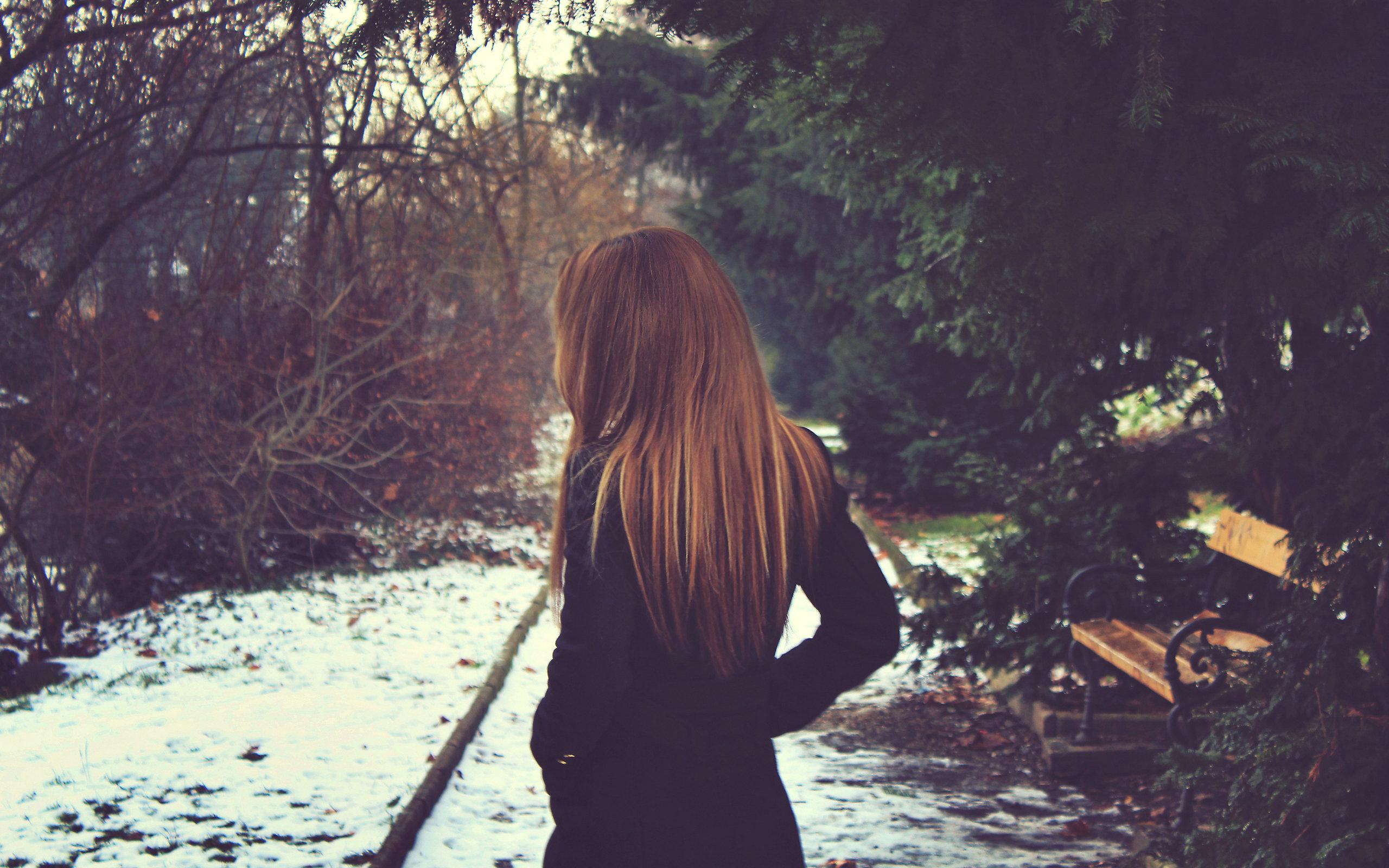Ảnh tâm trạng cô đơn
