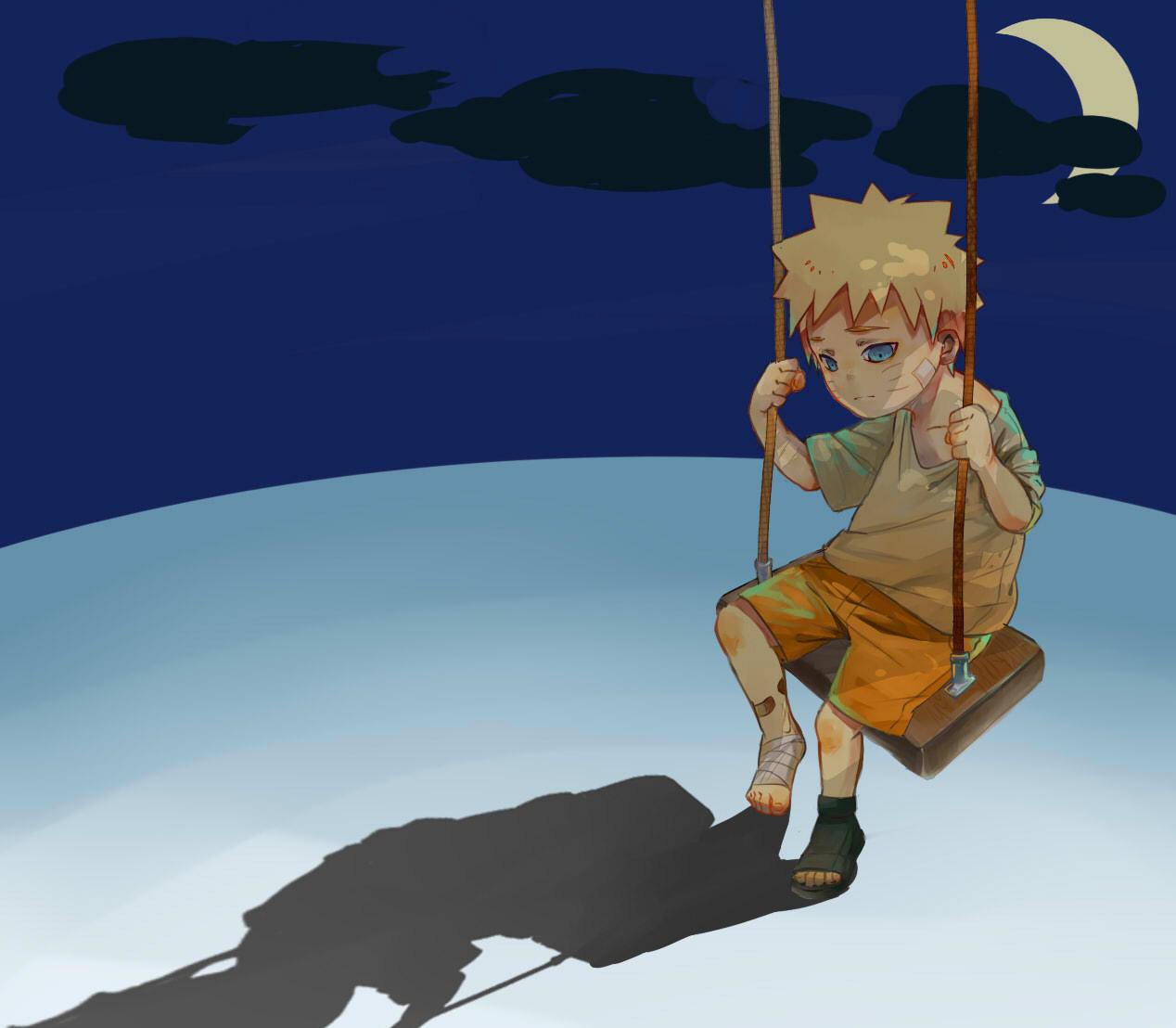 Hình ảnh anime buồn, cô đơn nhất