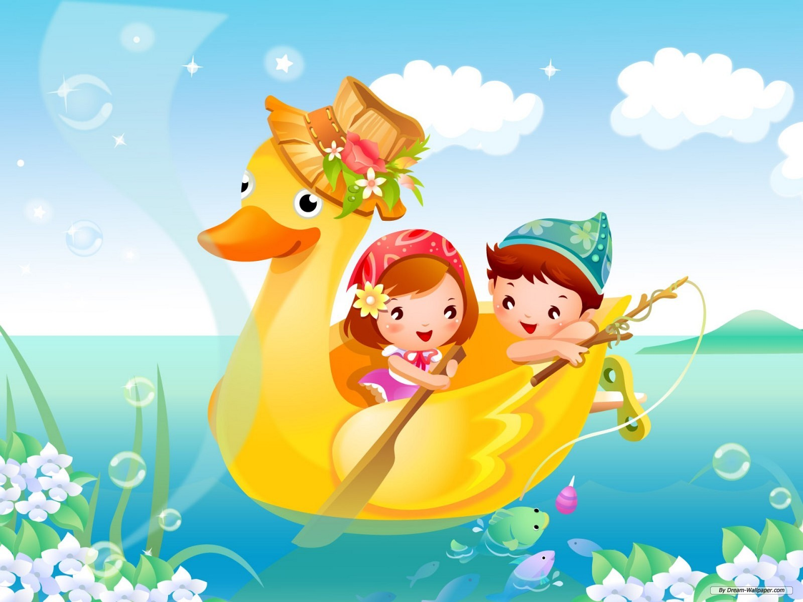 Hình ảnh hoạt hình chiếc thuyền ra khơi dễ thương