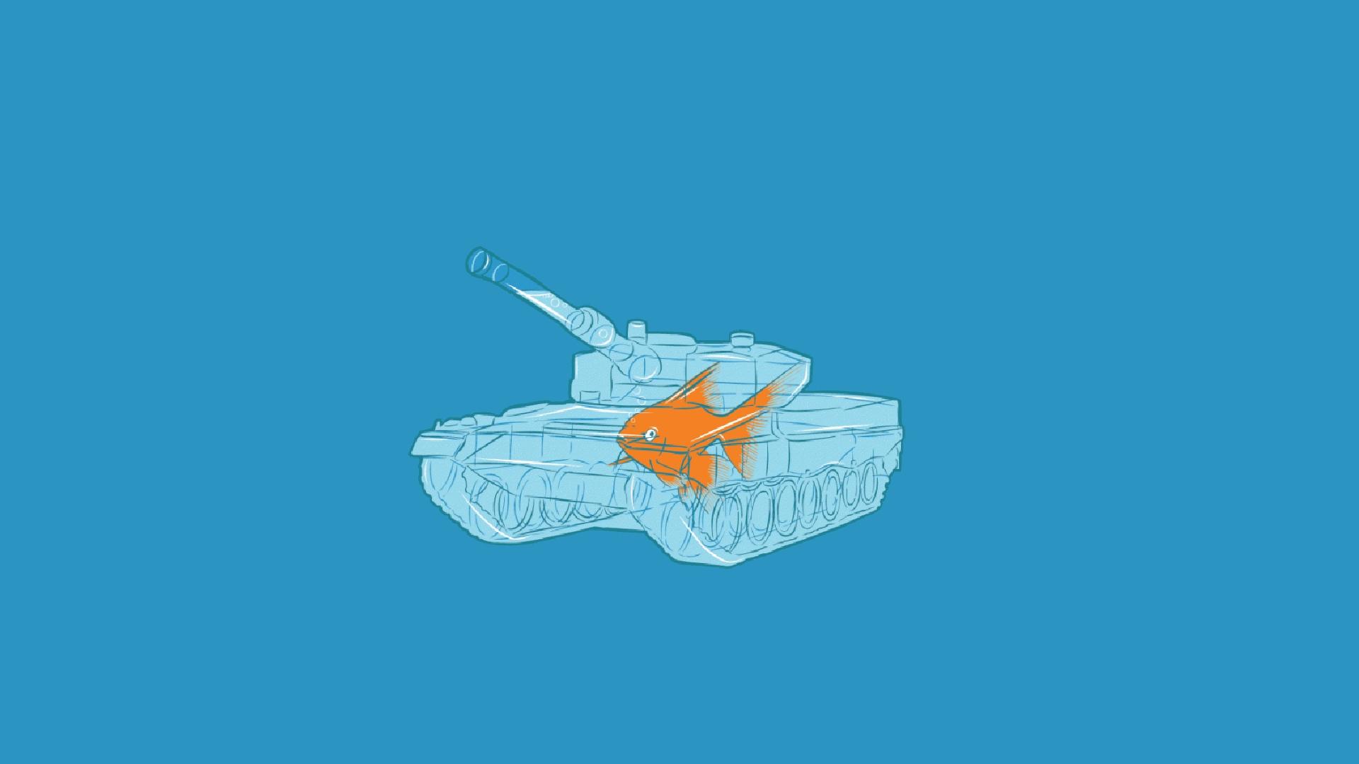 Hình ảnh hoạt hình chú cá dễ thương