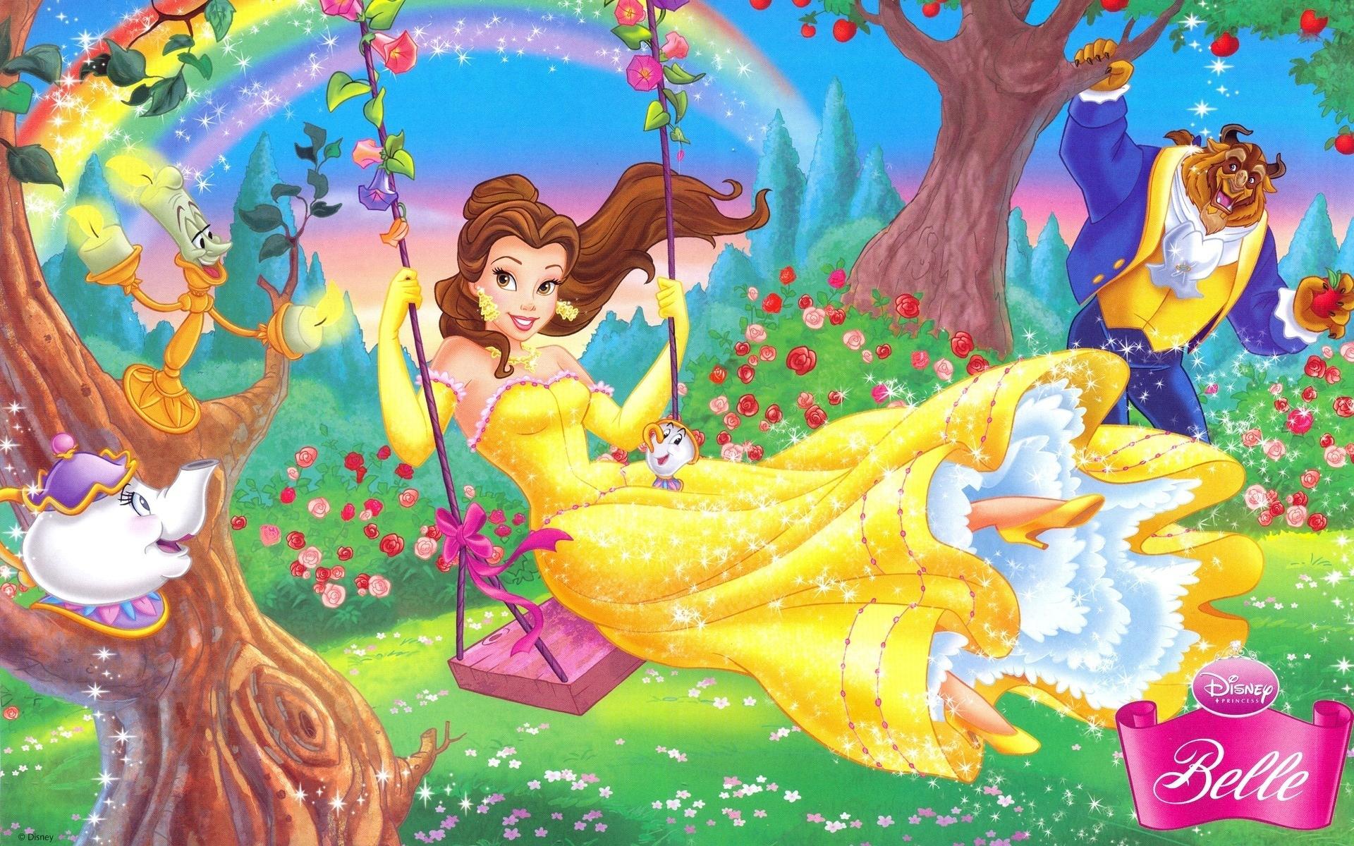 Hình ảnh hoạt hình những nàng công chúa dễ thương