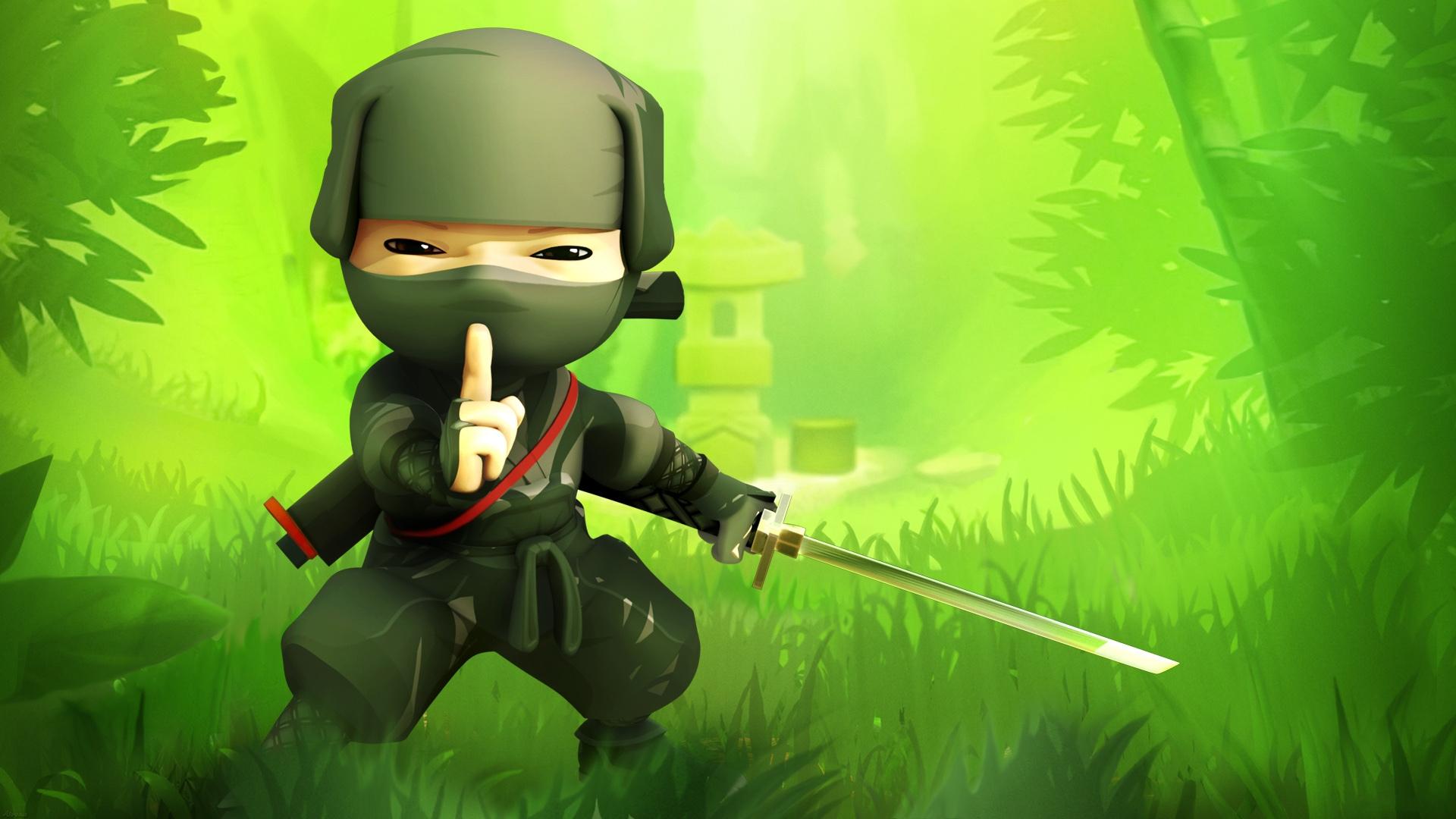 Hình ảnh hoạt hình Ninja dễ thương