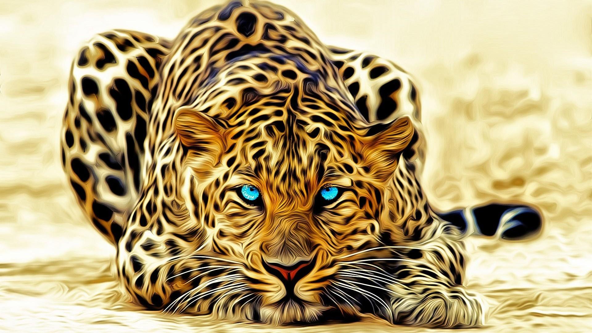 Hình nền 3D động vật