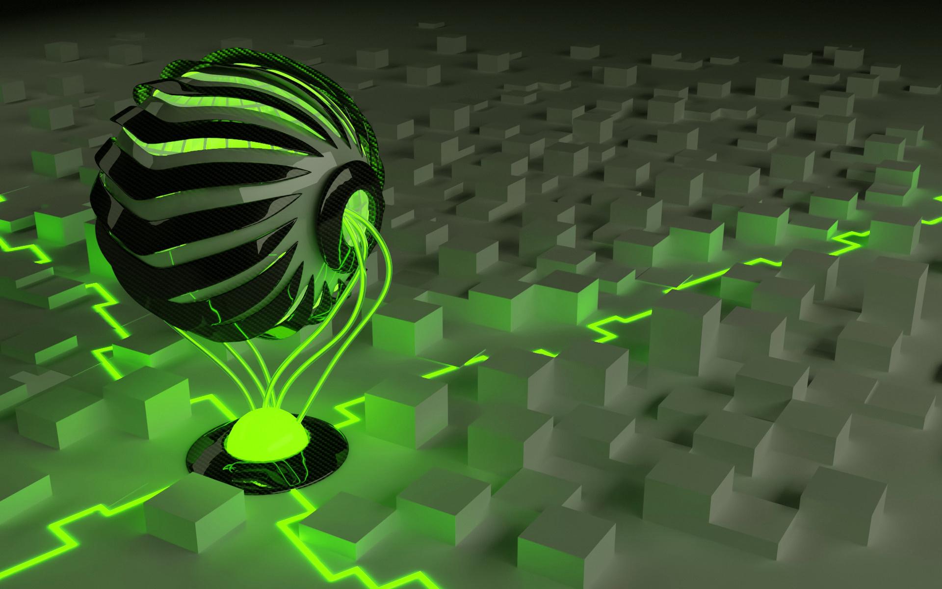 Hình nền 3D khinh khí cầu