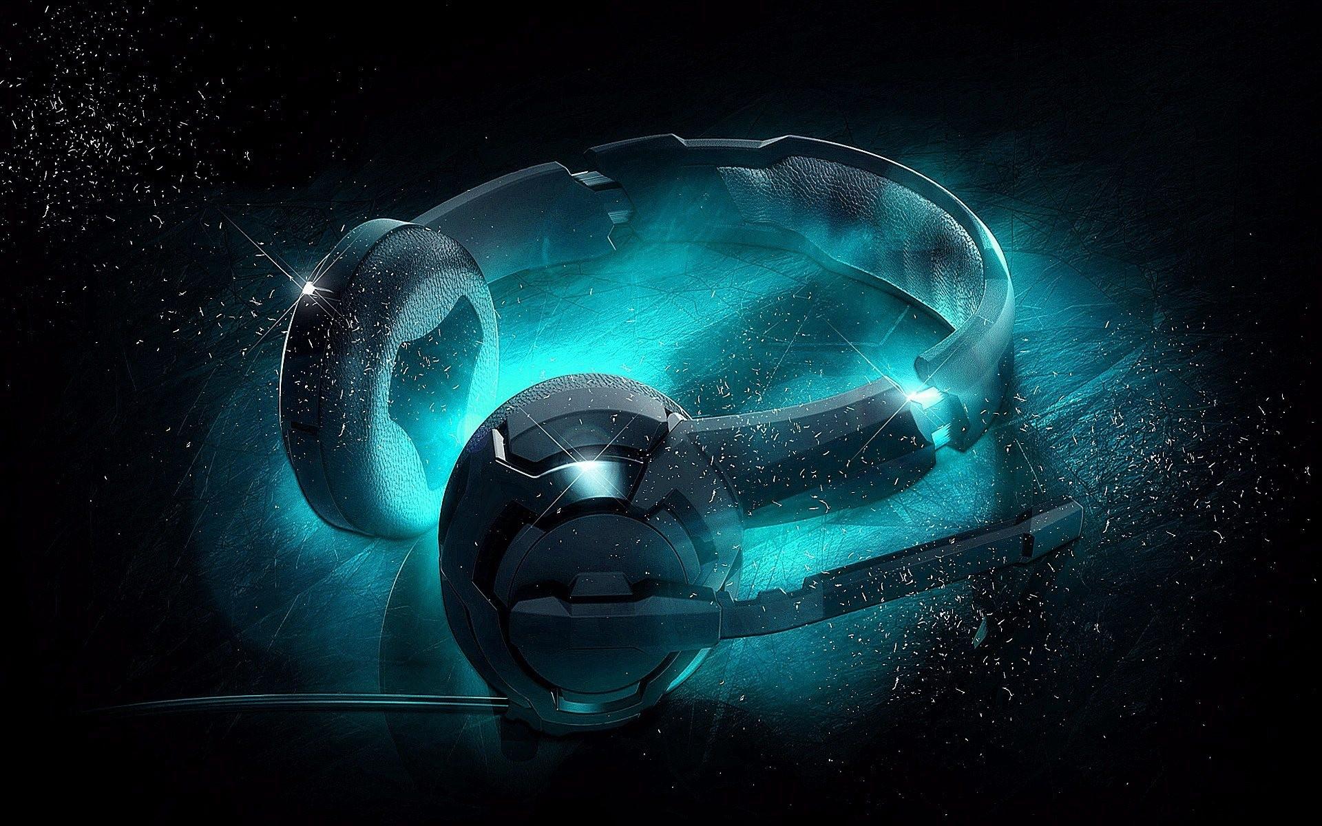 Hình nền 3D tai nghe