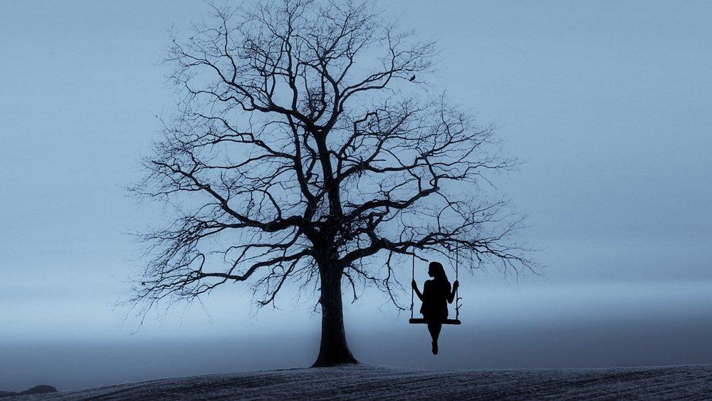 Những hình ảnh buồn cô đơn