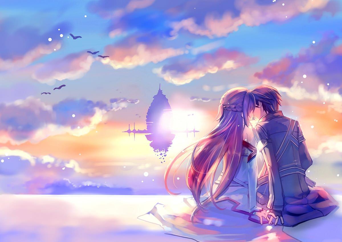Ảnh anime tình yêu đẹp nhất