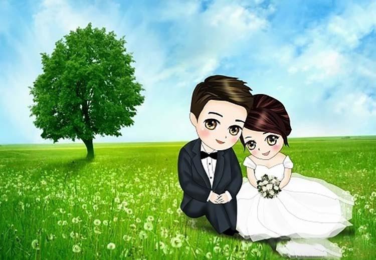 Hình ảnh chụp ảnh cưới dễ thương nhất của cặp đôi