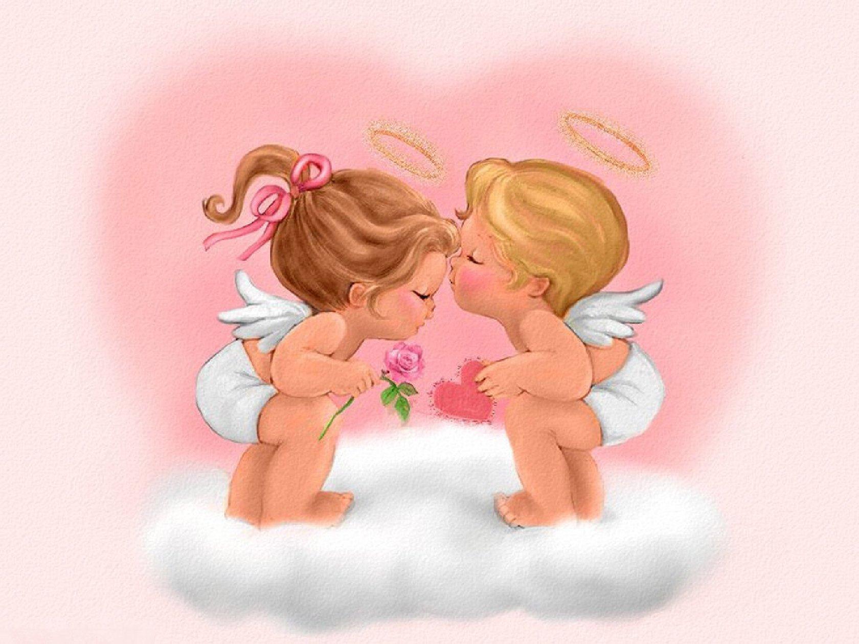 Hình ảnh thiên thần dễ thương nhất