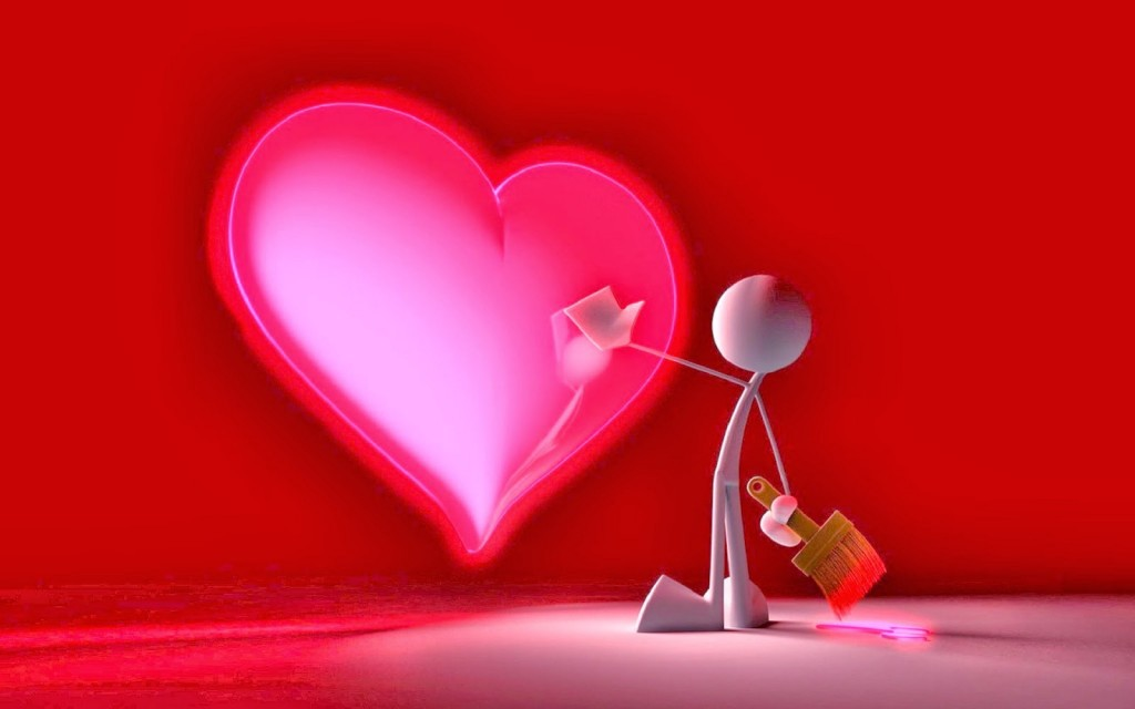 Hình ảnh trái tim dễ thương nhất
