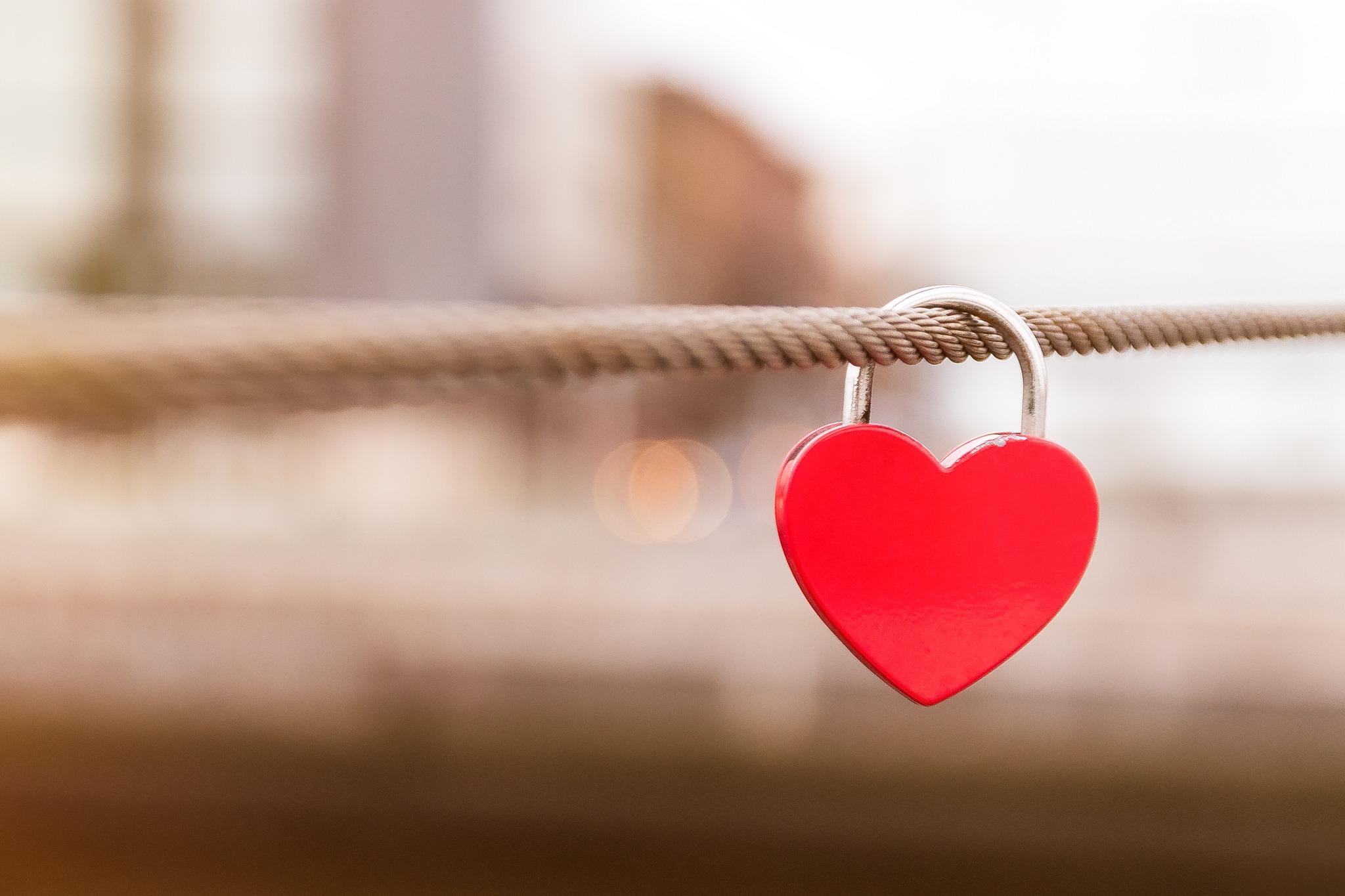 Hình ảnh trái tim ngọt ngào dễ thương về tình yêu