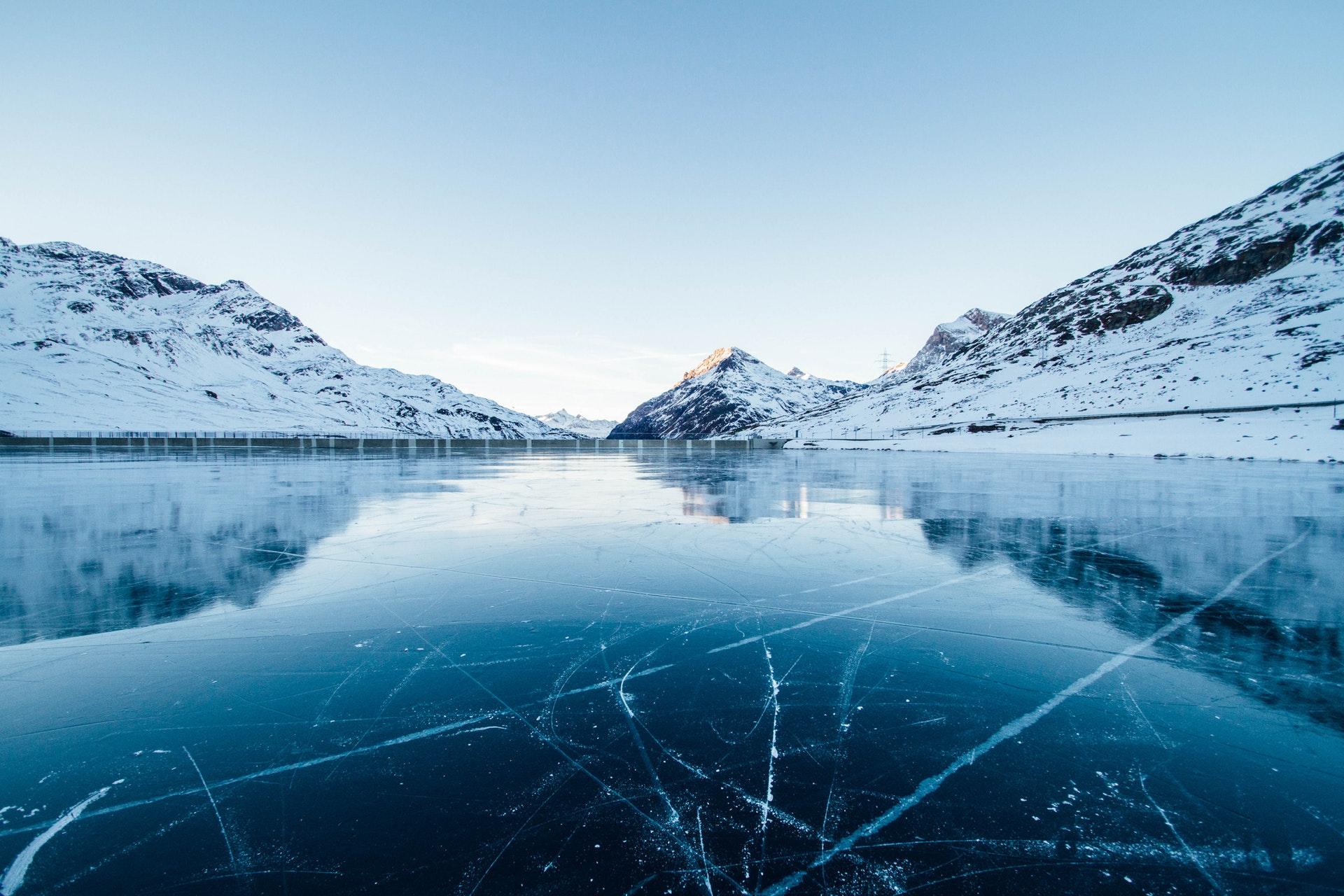 Hình nền đẹp sông băng kỳ lạ
