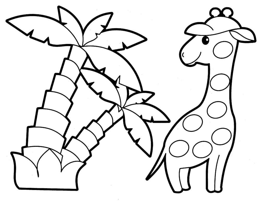 Tranh tô màu con vật cho bé phát triển tư duy 68