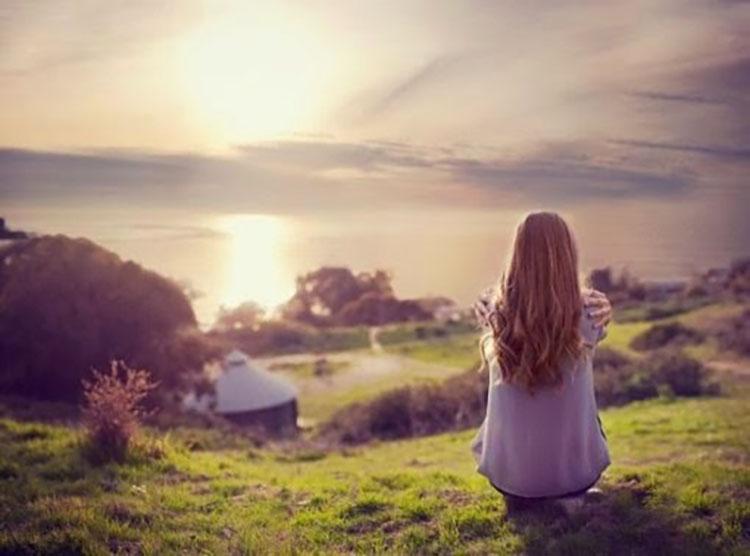 Hình ảnh buồn cô đơn trong cuộc sống