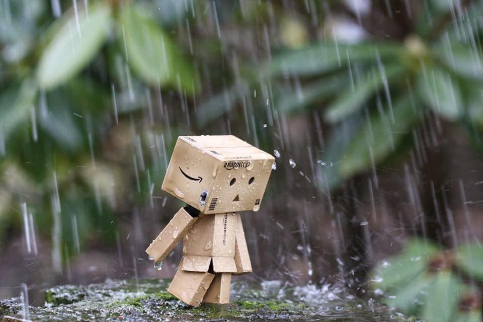 Hình ảnh mưa buồn cô đơn nhất trong tình yêu
