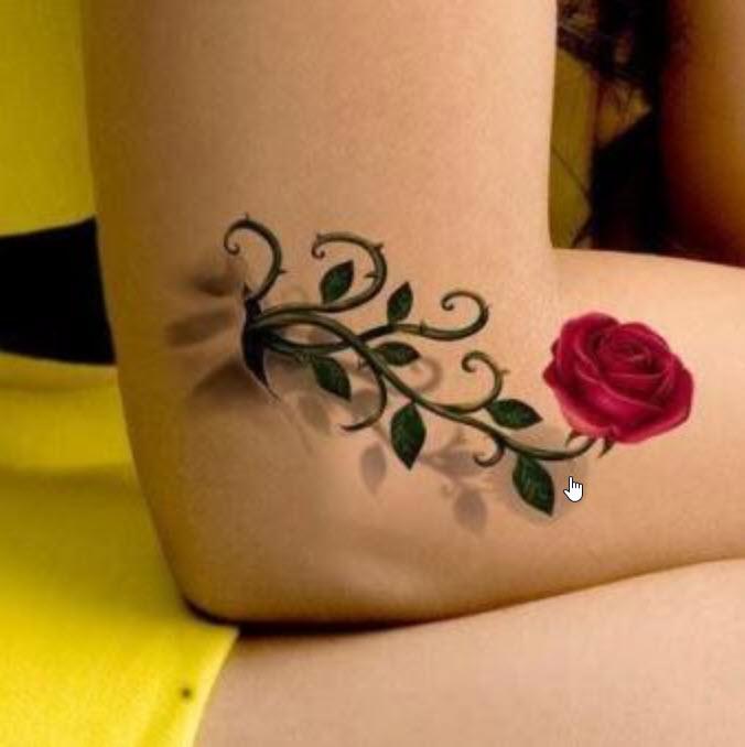 Có nên xăm hình hoa hồng không và ý nghĩa của chúng là gì