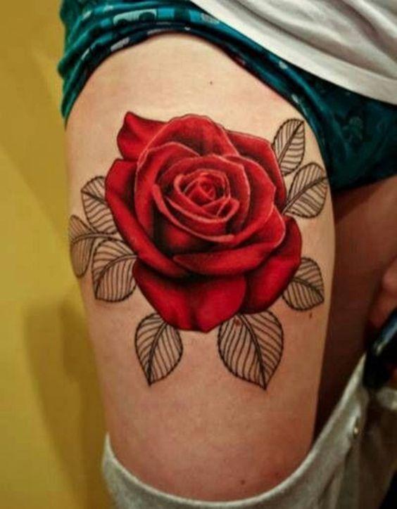 Hình xăm hoa hồng đẹp và ấn tượng nhất