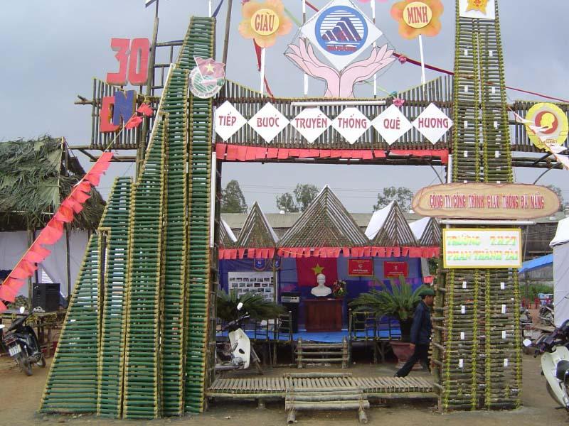 Mẫu trại này có hình một con đò này sẽ rất thích hợp để dựng vào ngày 2011 đẹp nhất
