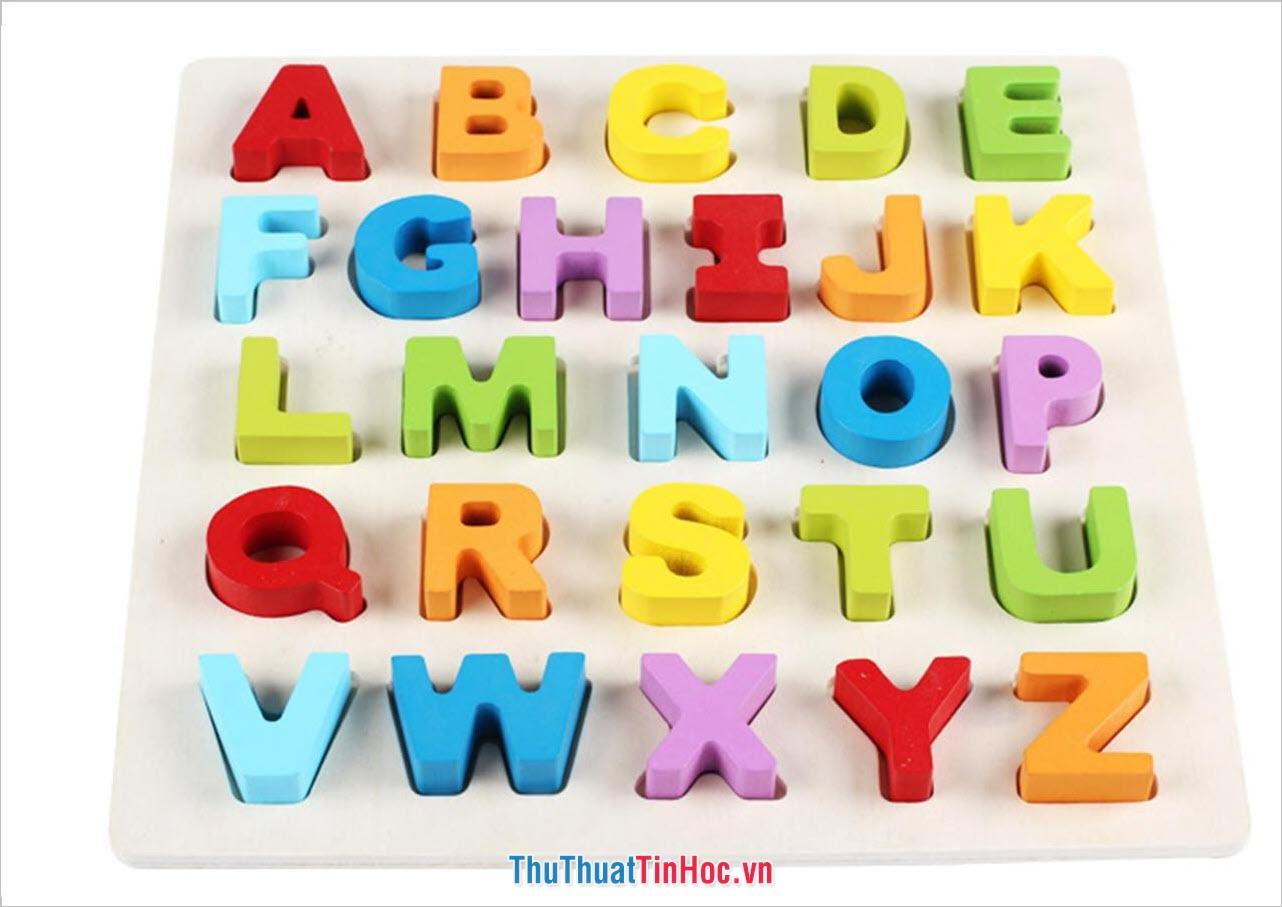 Bảng chữ cái tiếng Anh - 5