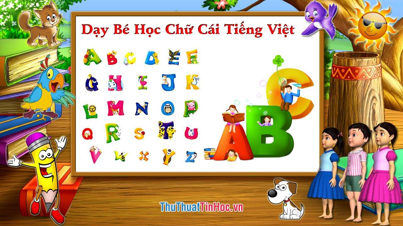 Bảng chữ cái tiếng Việt - 8